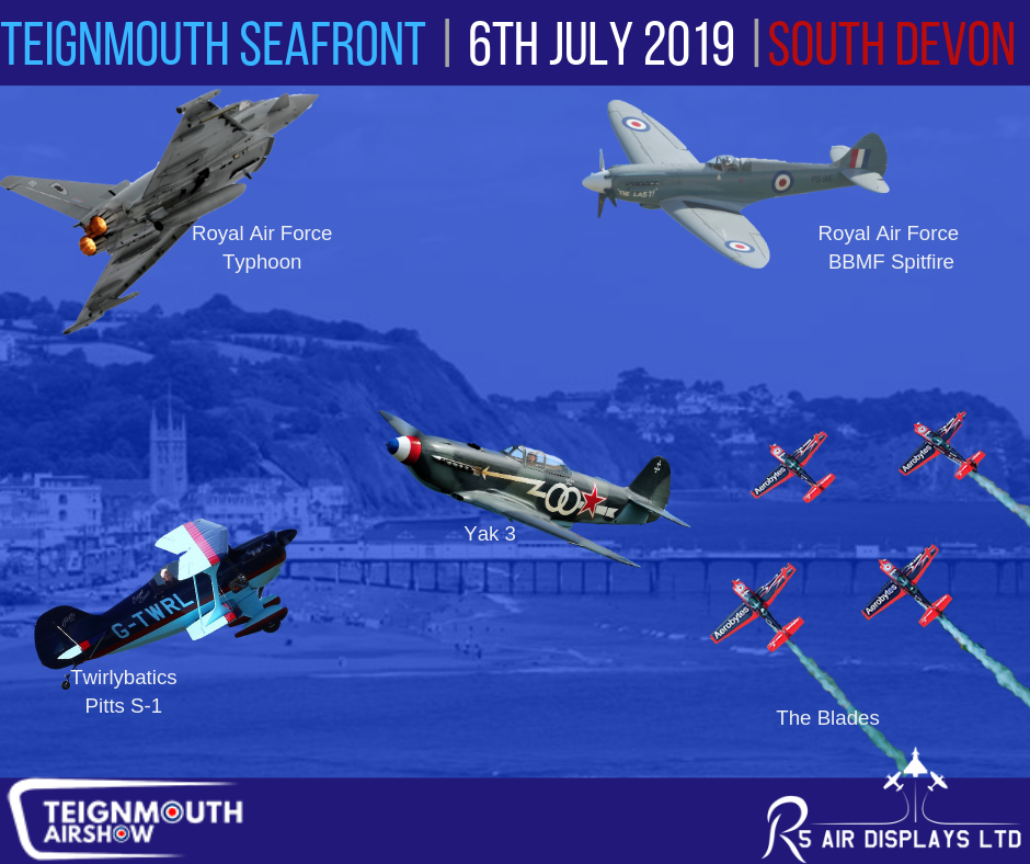 Teignmouth Airshow's first show line up announced!